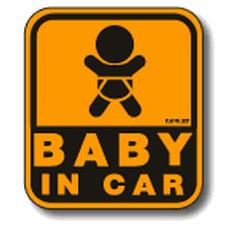 BABY IN CARシール(NEVERまとめさんからお借りしました)